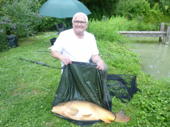 Terry catches at 80 Years Young!